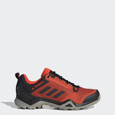 Men TERREX Red Terrex AX3 GORE-TEX Hiking Shoes