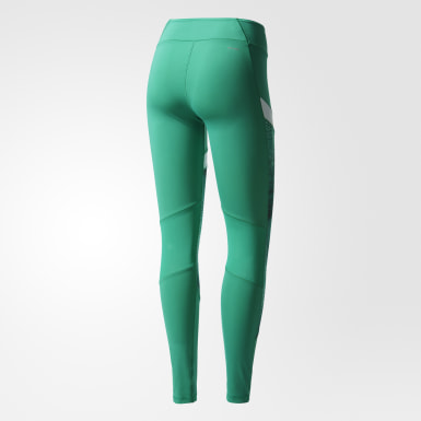 Mallas deportivas Ultimate Long Verde Mujer Training