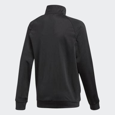 Børn Træning Sort Core 18 jakke