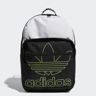 Originals Black Trefoil Pocket Backpack