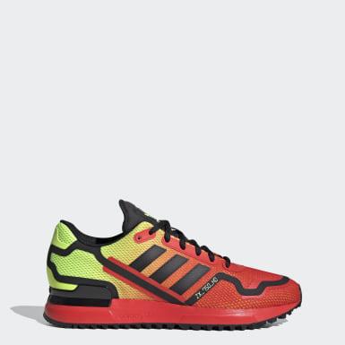 Sapatos ZX 750 HD Vermelho Mulher Originals