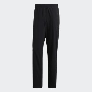 Pantaloni Essentials Plain Open Hem Stanford Nero Uomo Training