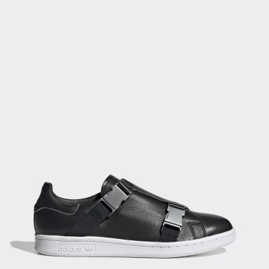 Women Originals Black Stan Smith Buckle Shoes