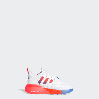 Infants Originals White ZX 2K Shoes