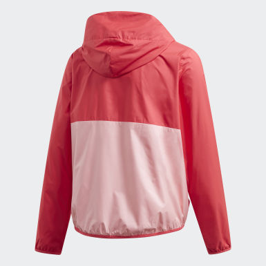 Mädchen Training Must Haves Windbreaker Rosa