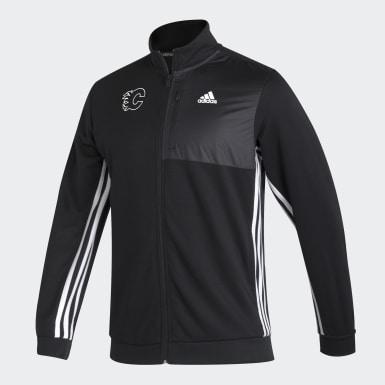 Men Hockey Flames Transitional Track Jacket