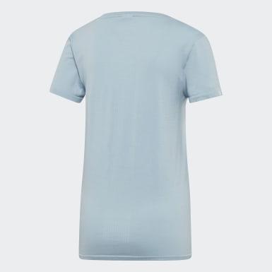T-shirt 25/7 Blu Donna Running