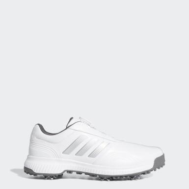 ผู้ชาย กอล์ฟ สีขาว รองเท้า CP Traxion Boa