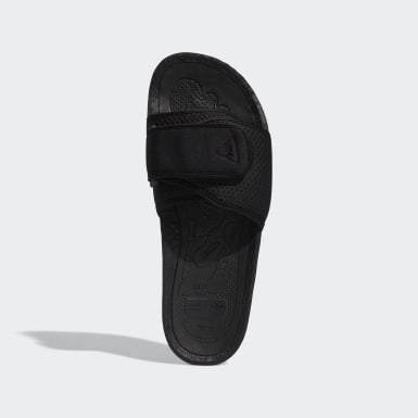 Claquette Pharrell Williams Boost Noir Hommes Originals