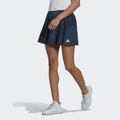 Club Tennis Pleated Skirt Niebieski