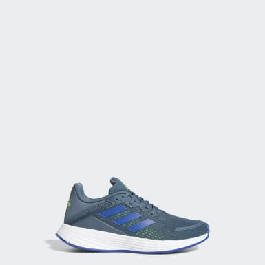 Kids 4-8 Years Running Blue Duramo SL Shoes