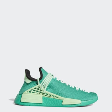 Erkek Originals Yeşil HU NMD Ayakkabı
