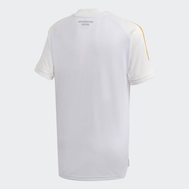 Děti Fotbal bílá Tréninkový dres Manchester United