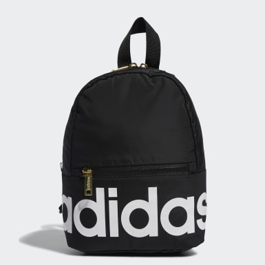 Essentials Black Linear Mini Backpack