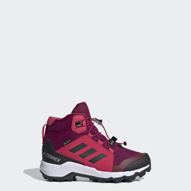 Barn TERREX Burgundy Terrex Mid GORE-TEX Hiking Shoes