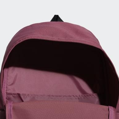 Sport Inspired สีชมพู กระเป๋าสะพายหลังทรงคลาสสิกขนาดใหญ่พิเศษ