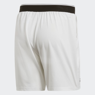 Muži Padel Tenis bílá Šortky Club 7-Inch