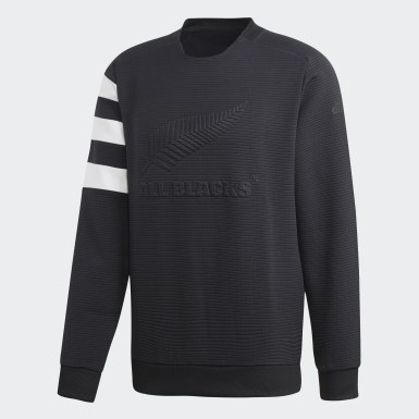Men Rugby Black All Blacks Sweatshirt