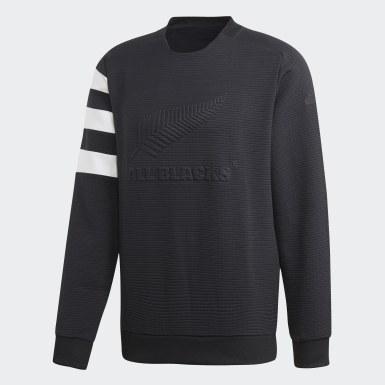 Men Rugby Black All Blacks Sweatshirt