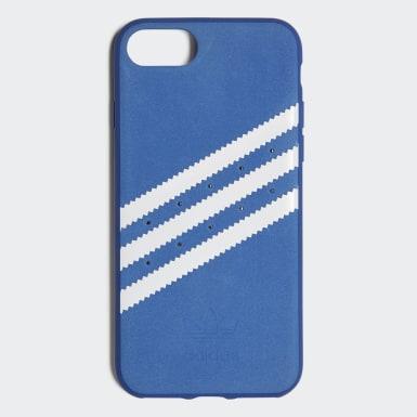 Capa Moldada em Camurça – iPhone 8 Azul Originals