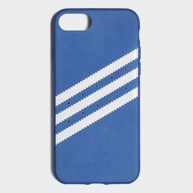 Originals modrá Pouzdro Moulded iPhone 8 Suede