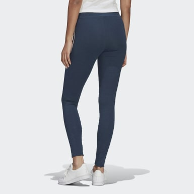 Frauen Originals Fakten Leggings Blau