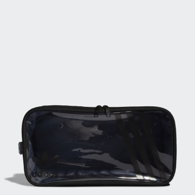 Originals Black Clear 3-Stripes Shoe Bag
