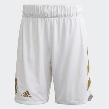 Men Basketball White Real Madrid Game Short