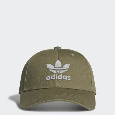 Cappellino Trefoil Baseball Verde Originals