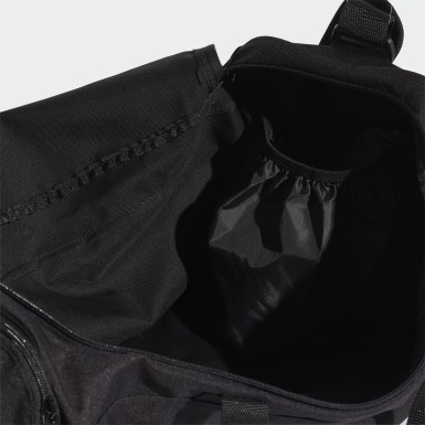 Training Black Linear Duffel Bag