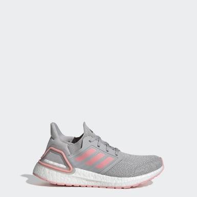Kids Running Grey Ultraboost 20 Shoes