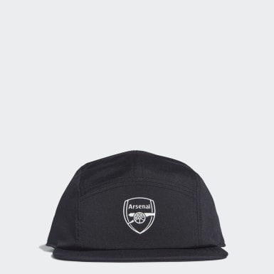 Football Black Arsenal Five-Panel Cap
