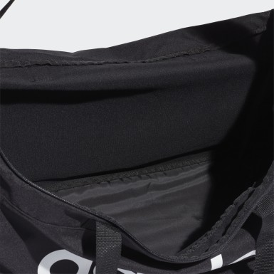 Training Black Linear Logo Duffel Large