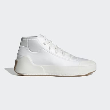 Chaussure adidas by Stella McCartney Treino Mid-Cut Blanc Femmes adidas by Stella McCartney