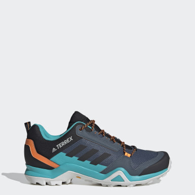 Sapatos de Caminhada AX3 TERREX Azul TERREX