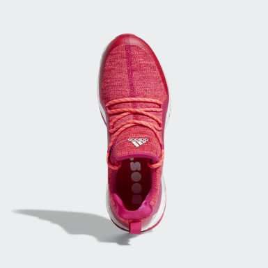 Women's Golf Red Pureboost Golf Shoes