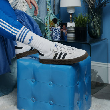 ผู้หญิง Originals สีขาว รองเท้า SAMBAROSE