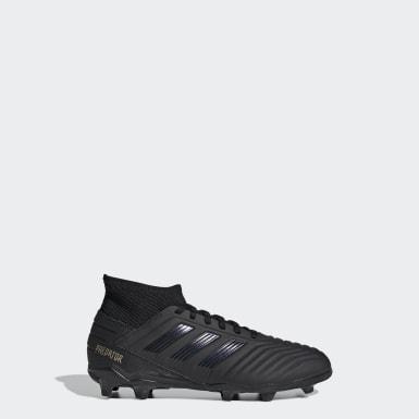 เด็กผู้ชาย ฟุตบอล สีดำ รองเท้าฟุตบอล Predator 19.3 Firm Ground
