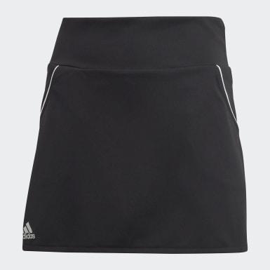 Meisjes Padel Tennis zwart Club Rok