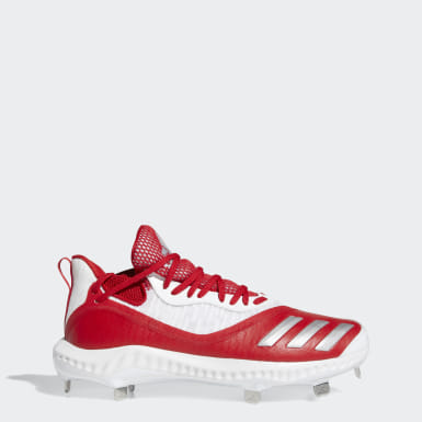 Men's Baseball Red Icon V Bounce Iced Out Cleats