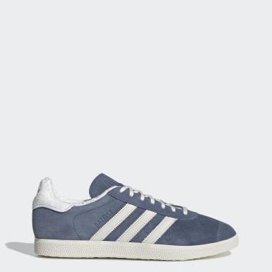 Adidas Gazelle bleu nuit pailleté pour femme IKKS