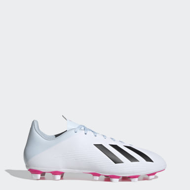 ผู้ชาย ฟุตบอล สีขาว รองเท้าฟุตบอล X 19.4 Flexible Ground