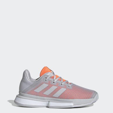 Women Tennis Grey SoleMatch Bounce Shoes