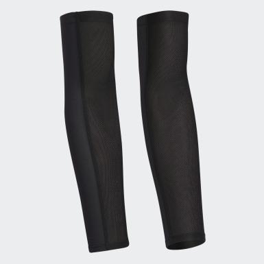 ผู้ชาย กอล์ฟ สีดำ ปลอกแขนกัน UV