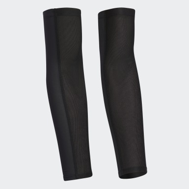 Men Golf Black UV Arm Sleeve