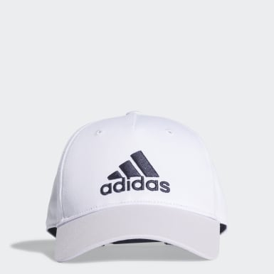 Kids Training White Graphic Cap