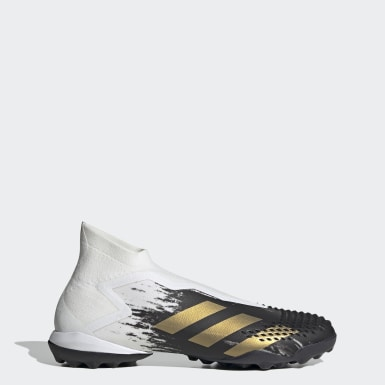 Mænd Fodbold Hvid Predator Mutator 20+ Turf støvler