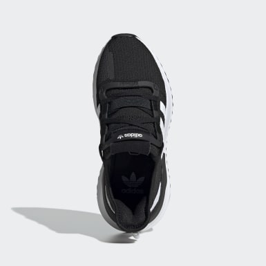Youth 8-16 Years Originals Black U_Path Run Shoes
