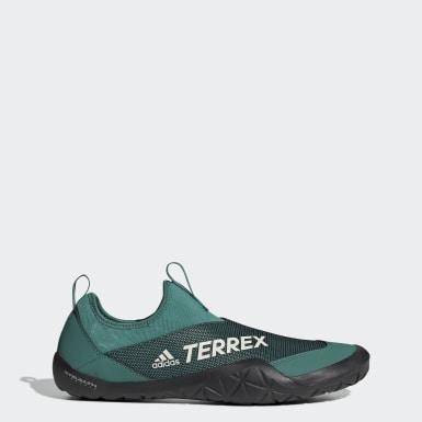 TERREX Turquoise Terrex Climacool Jawpaw II Water Slippers