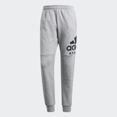 Men Athletics Grey Sport ID Track Pants